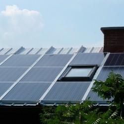 Fotovoltaika-EH z oknom