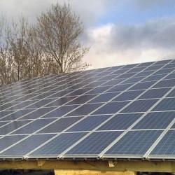 Gradnja sončne elektrarne