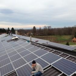 Oš Razkrižje, hosekra elektro strehe in konstrukcija.