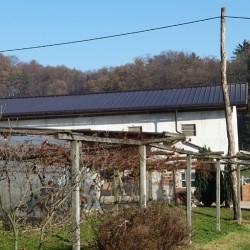 Hosekra strehe trapez model T4 pripravljen za fotovoltaiko.