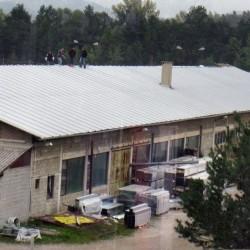 Sistem EH na skladišču podjetja Bisol