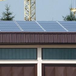 Sončna elektrarna na Gozdnem Gospodarstvu.