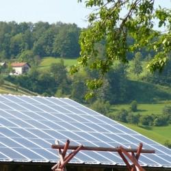 Sončna elektrarna - sončni paneli