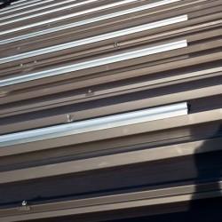 EH konstrukcija Hosekra montirana na streho z izolacijo.