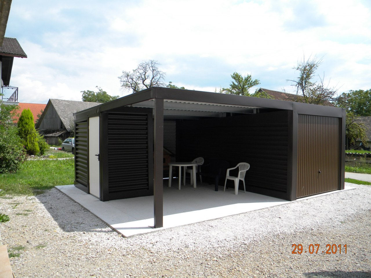 garage mit carport amazing garage mit carport und abstellraum loopele fr carport mit. Black Bedroom Furniture Sets. Home Design Ideas