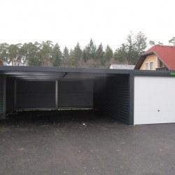 Antracid garaža z rolo vrati