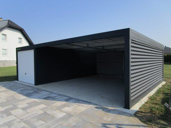 Garaže z rolo vrati in izolacijo
