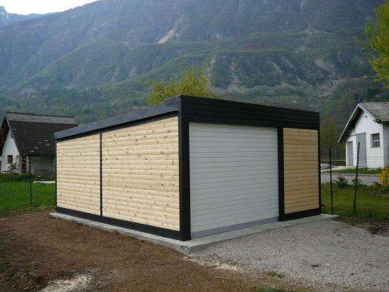 Lesene garaže