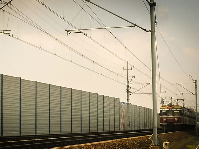 noise barriers railroad