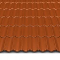 Hosekra gladka streha RAL 8004