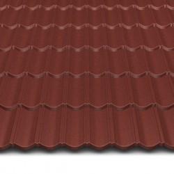 Hosekra gladka streha RAL 8012 MAT