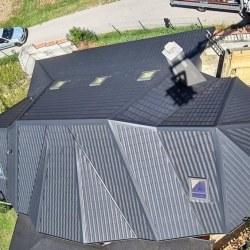 Hosekra Gladka Črna mat - pogled iz zraka