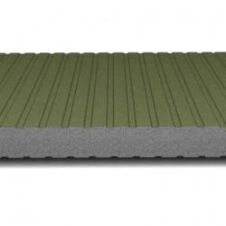 hosekra zidni panel grafit ral 6020 mat