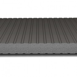 hosekra zidni panel grafit ral 9005