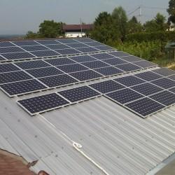 Mala sončna elektrarna.