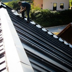 Sončna elektrarna - EH streha za pasivno hišo