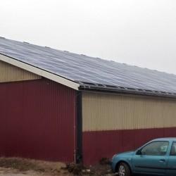 Hosekra strehe in montaža modulov