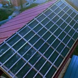 Sončna elektrarna EH Pajič, ostrešje za sončne celice