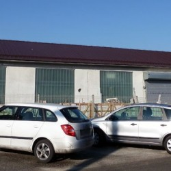 Strehe Hosekra za fotovoltaiko model T4, predpriprava za sončno elektrarno.