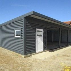 Trojna garaža dodatna vrata