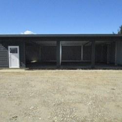 Trojna garaža dodatna vrata spredaj