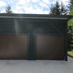 Visoka dvojna garaža