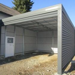 Visoka garaža, rolo vrata