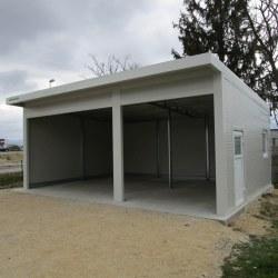 Garaža dvojna z izolacijo