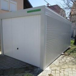 Garaža enojna z izolacijo