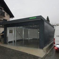 Široka garaža, rolo vrata, izolacija