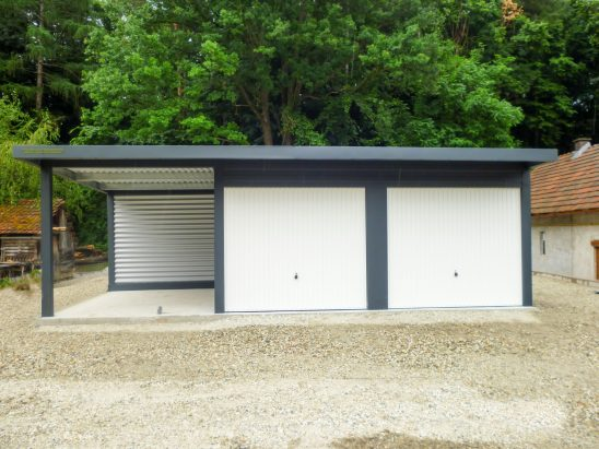 Garaže z nadstreški