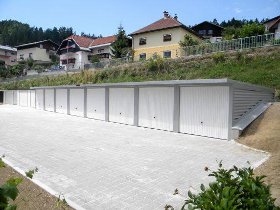 Vrstne garaže