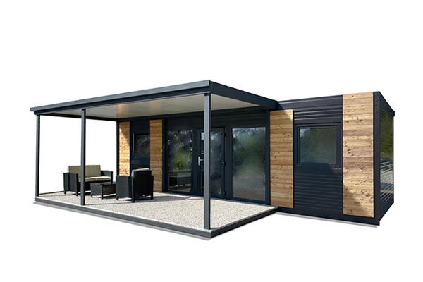 Mobilne hiške v stiku z naravo