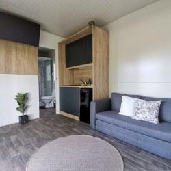 Dnevni prostor mobilne hiške EKO+