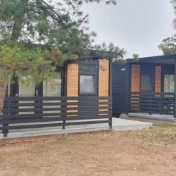 Dve mobilni hiški EKO+ s teraso