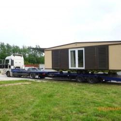 Transport mobilnih hišic