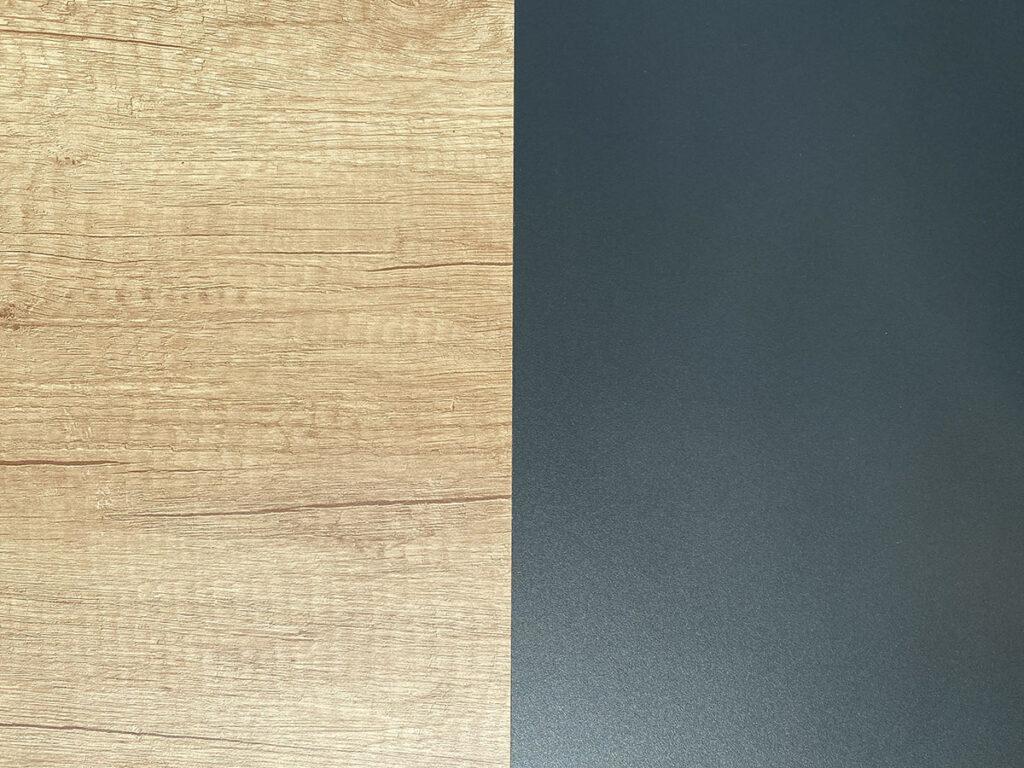 Temna barvna kombinacija notranjosti