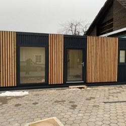 Lesena fasada  na hiški EKO po naročilu
