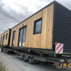 Mobilna hiška Hosekra Cosmos Wood prevoz