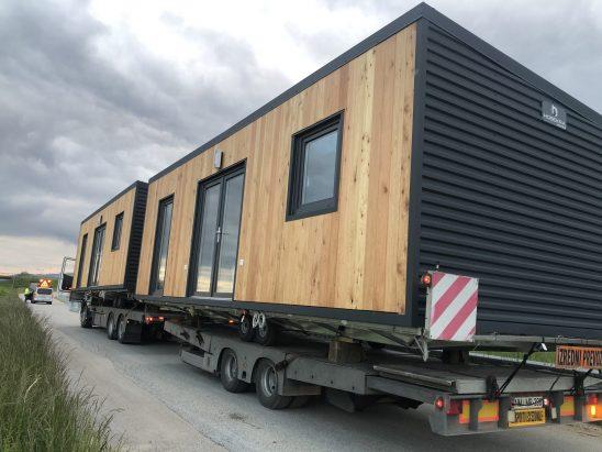 Transport mobilnih hišk