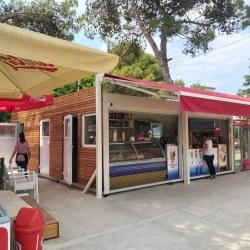 Kontejner kot prodajalna sladoleda