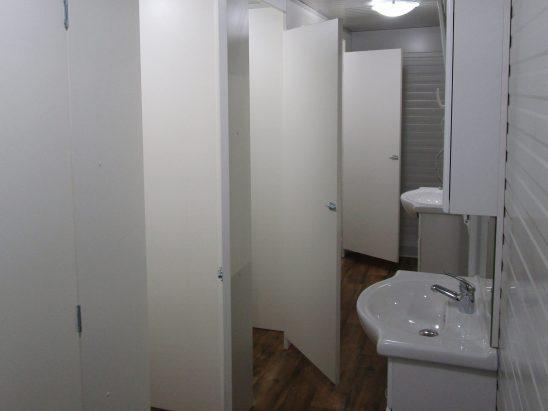 Notranjost sanitarnih kontejnerjev