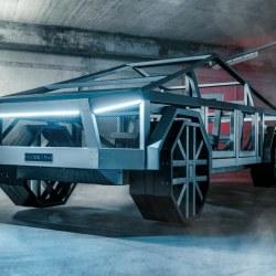 Replika avtomobila narejena iz profilov v razmerju 1:1