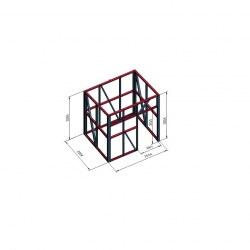 Lopa 2x2,5x2,5 streha paneli