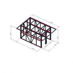 Lopa 4x2,5 previsna streha