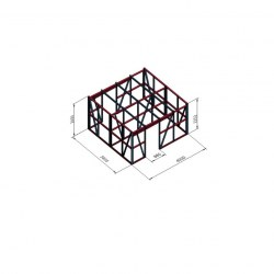 Lopa dvojček 4x3,8