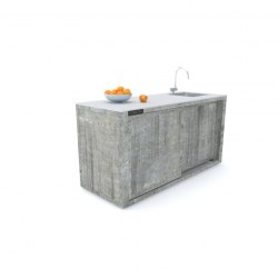Zunanja kuhinja 180 beton