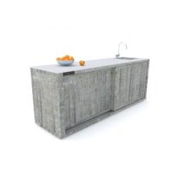 Zunanja kuhinja 240 beton