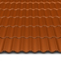 Hosekra gladka streha RAL 8004 MAT