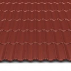 Hosekra gladka streha RAL 8012